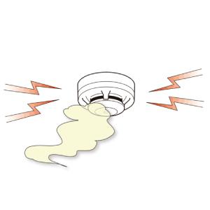 ガス漏れ警報器